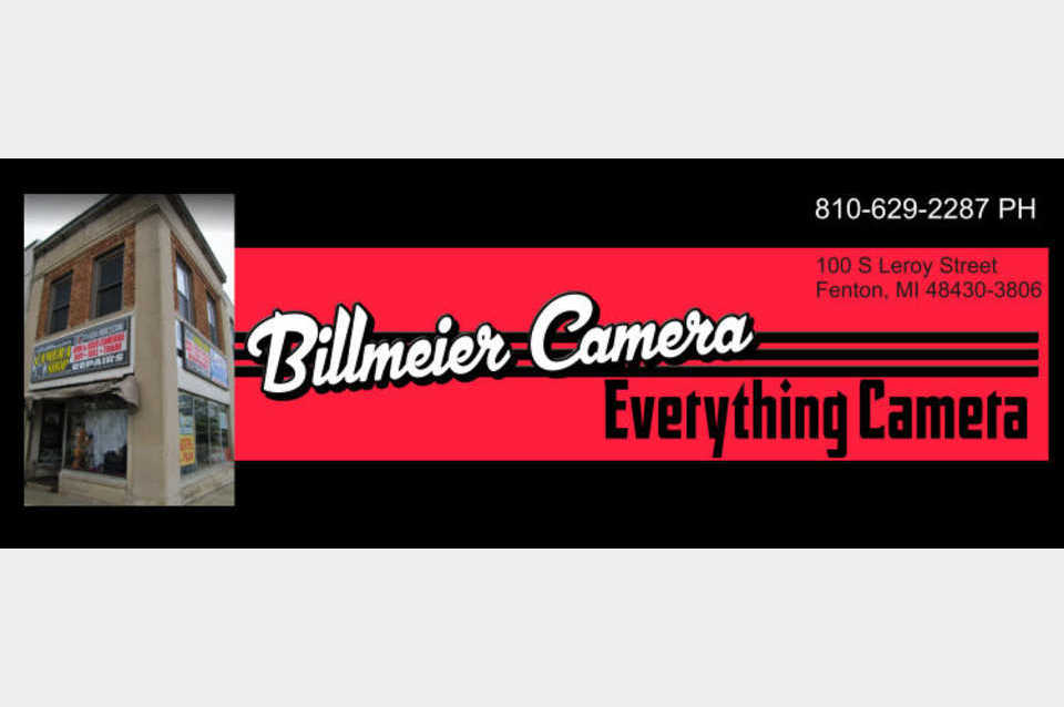 Billmeier Camera Shop Inc. - Shopping - Retail Stores in Fenton MI
