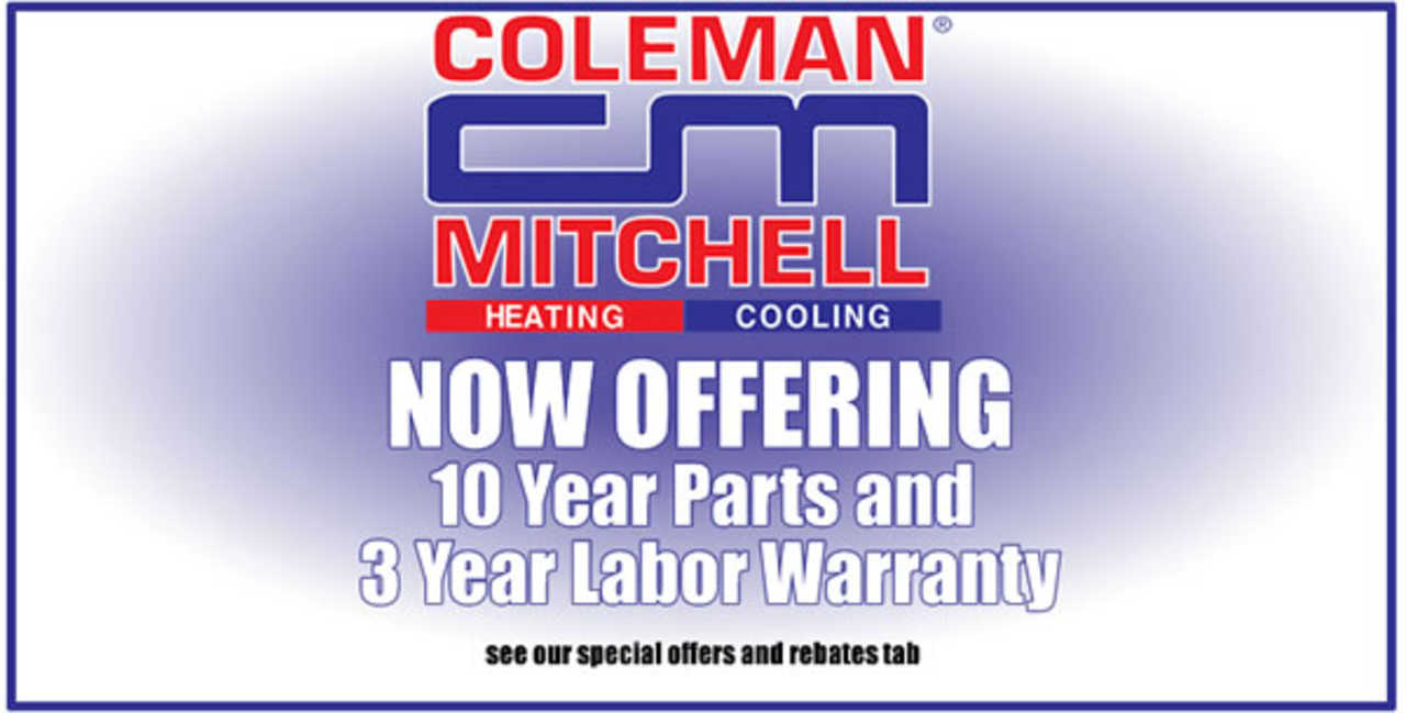 Coleman-Mitchell Heating & Air Conditioning - Services - Heating and Air Conditioning in Bridgeville PA