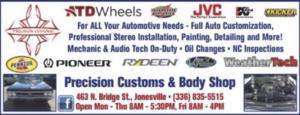 Precision Customs & Body Shop in Elkin, NC