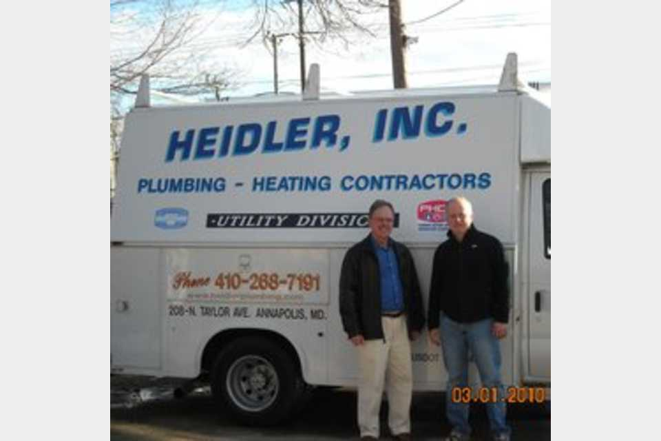 Heidler Inc - Services - Plumbers in Annapolis MD