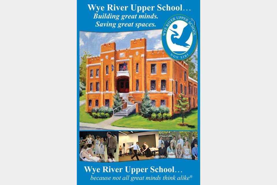 Wye River Upper School - Education - Private Schools in Wye Mills MD