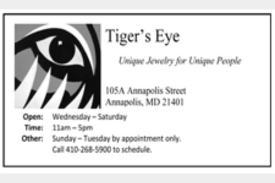 Tiger's Eye - Shopping - Clothing Accessories in Annapolis MD