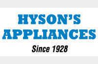 Hyson's Appliances in Hampstead, MD