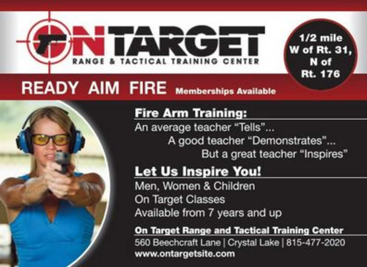 On Target Range and Tactical Training Center - Shopping - Sporting Goods Stores in Crystal Lake IL