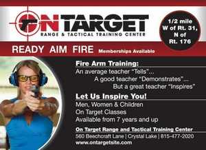 On Target Range and Tactical Training Center in Crystal Lake, IL