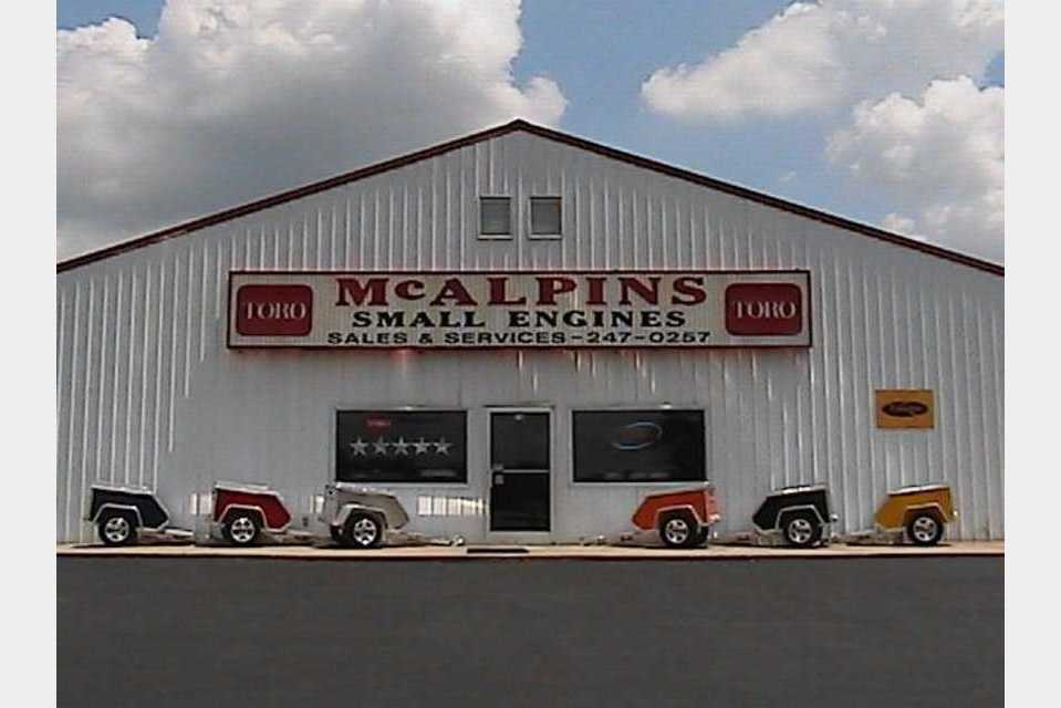 McAlpin's Small Engine - Construction - Construction Equipment in Mayfield KY