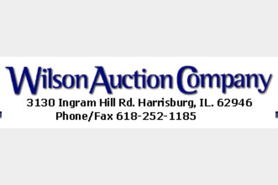 Wilson Auction Company - Services - Auction Services in Harrisburg IL