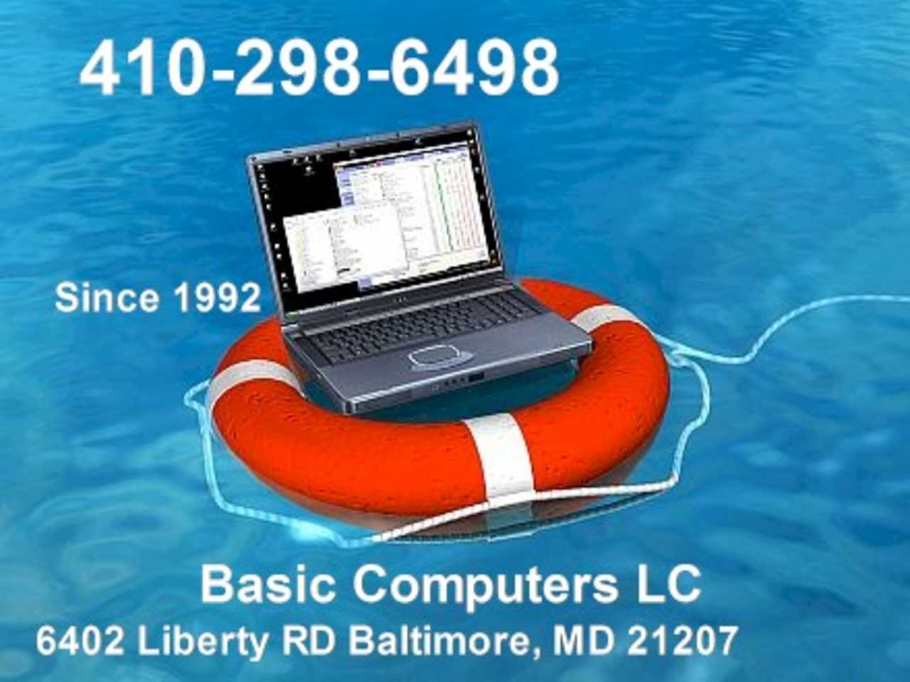 Basic Computers LC - Services - Repair Shops in Baltimore MD