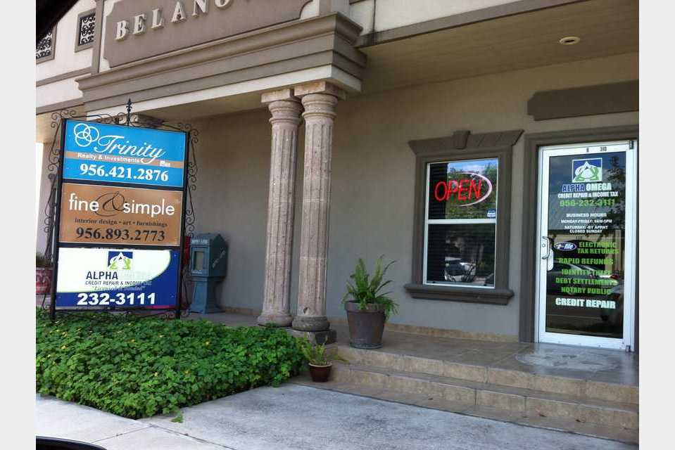 Alpha Omega Credit Repair & Income Tax - Finance - Tax Preparation in Harlingen TX