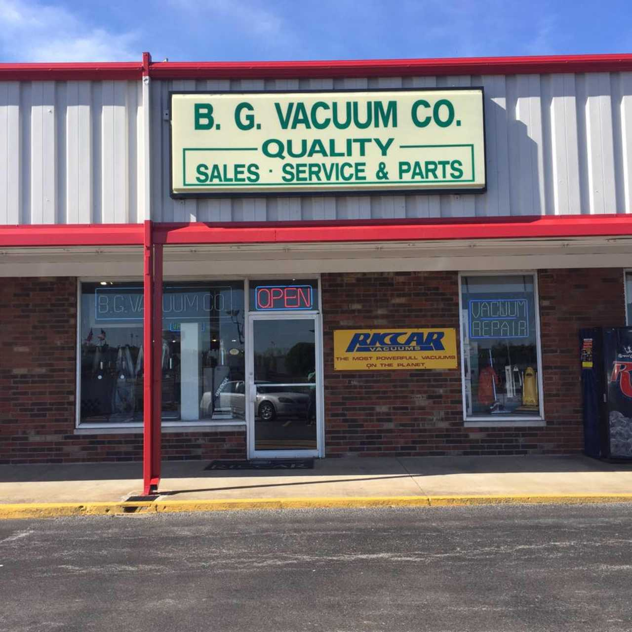 B G Vacuum Cleaner Co Inc - Shopping - Appliance Stores in Bowling Green KY