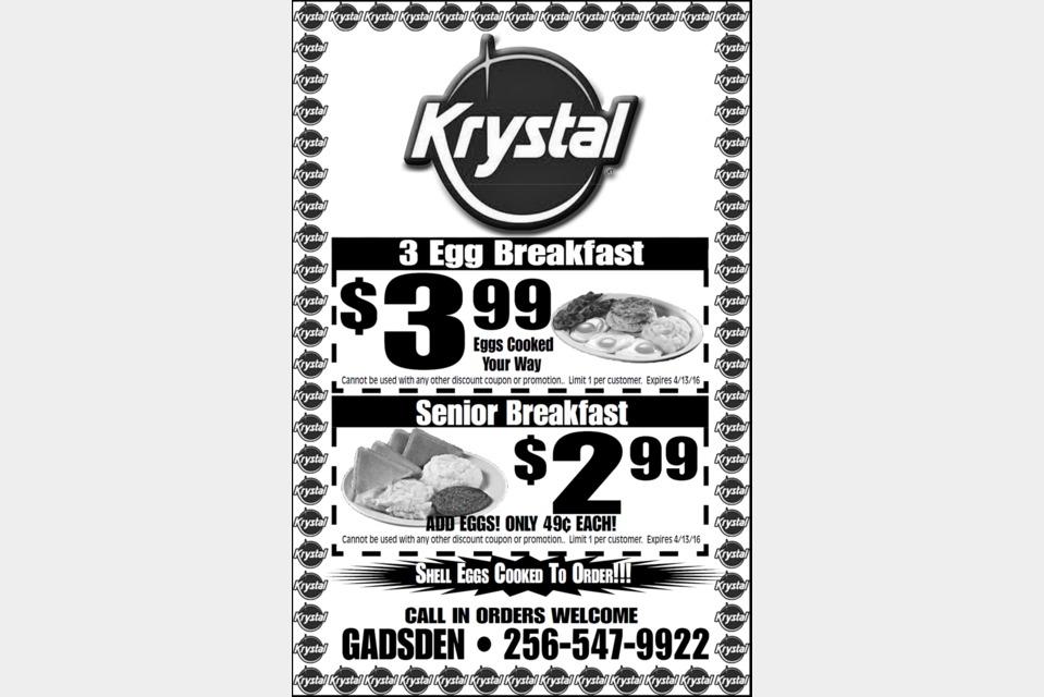 Krystal Restaurant - Food and Beverage - Restaurants in Gadsden AL