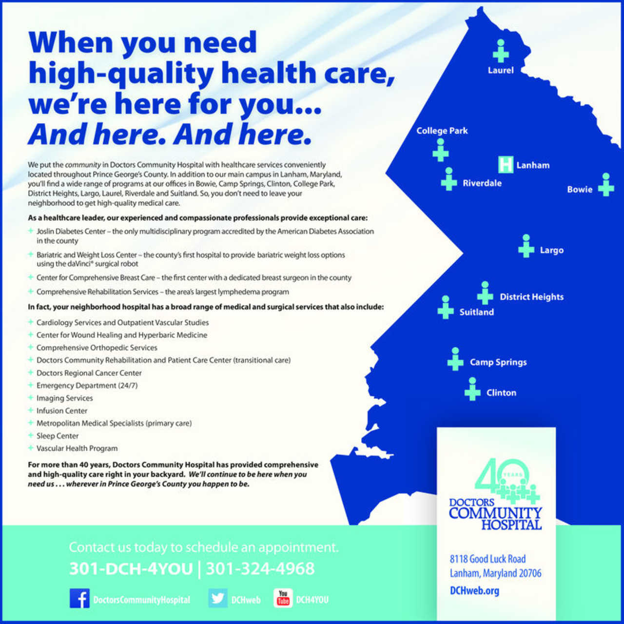 Doctors Community Hospital - Medical - Hospitals in Lanham MD