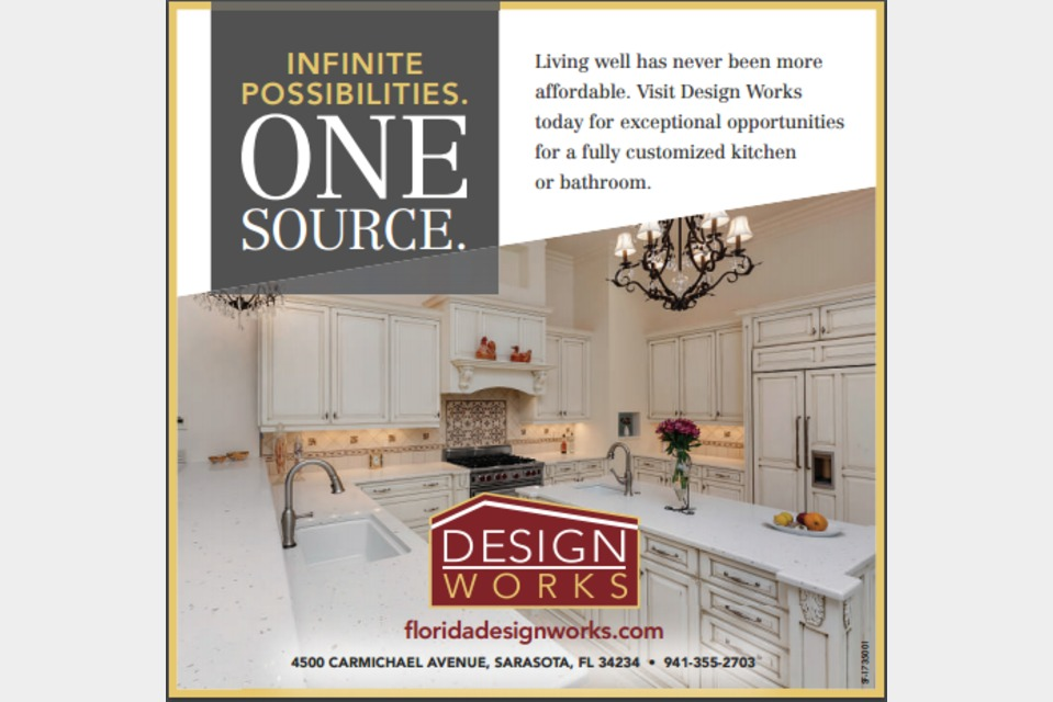 Design Works - House and Home - Kitchens in Sarasota FL