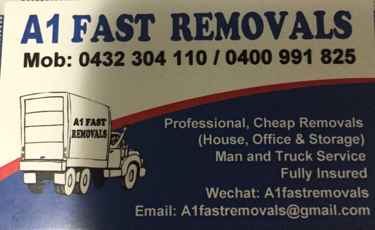 A1 Fast Removals - Transportation - Trucking in Carlton NSW