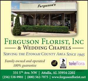 Ferguson Florist, Inc & Wedding Chapels in Attalla, AL