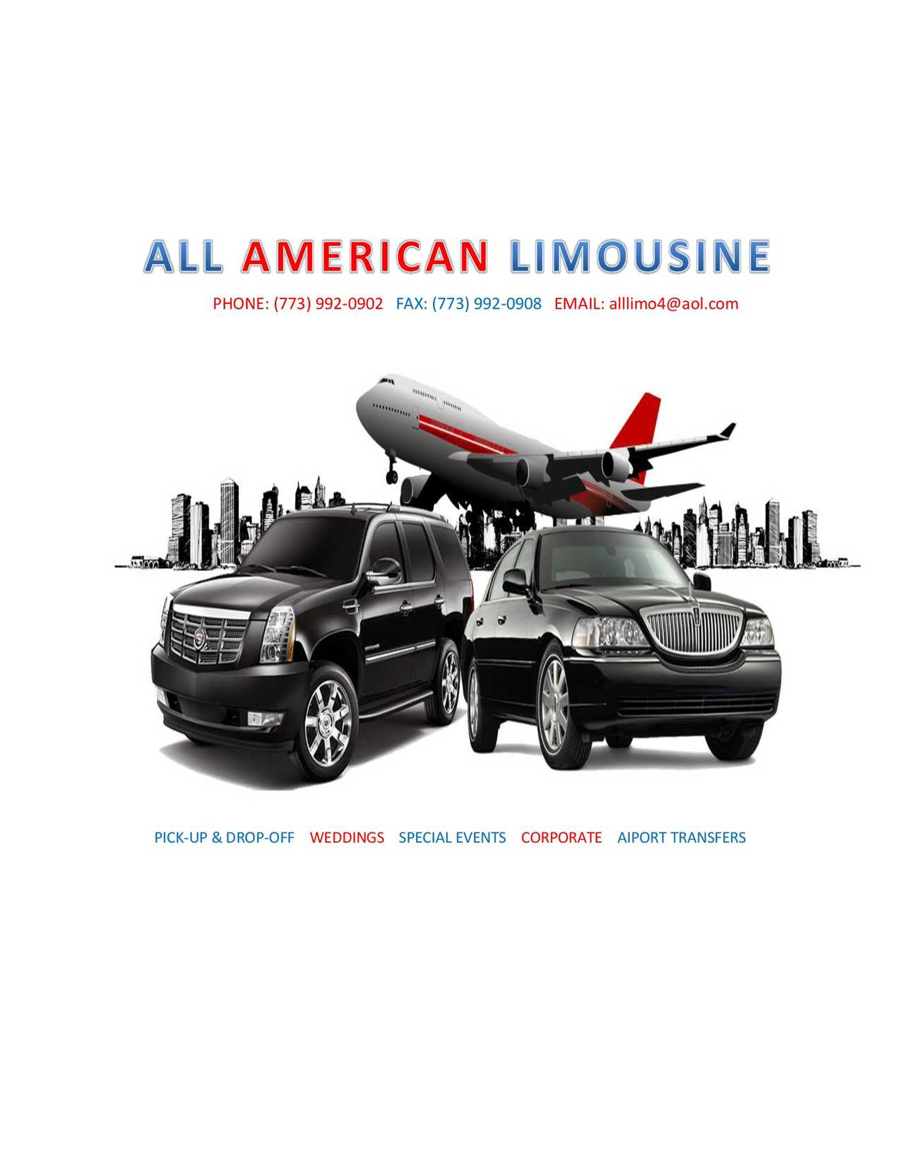 All American Limousine - Transportation - Transportation in Chicago IL