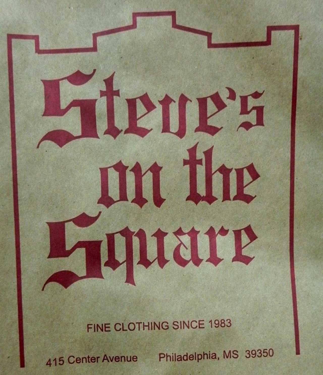 Steve's on the Square - Shopping - Retail Clothing in Philadelphia MS