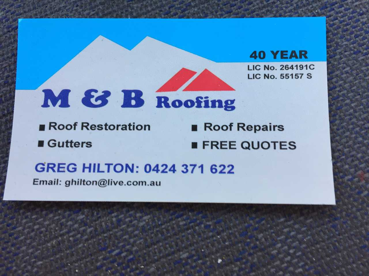 Greg Hilton - Services - Roofing & Guttering in Jamisontown  NSW