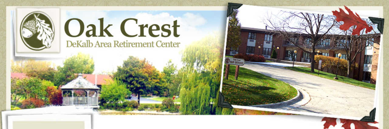 Oak Crest DeKalb Area Retirement Center - Shop Local - Senior Housing in Dekalb IL