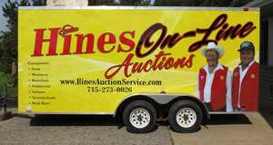 Hines Auction Service in Ellsworth, WI