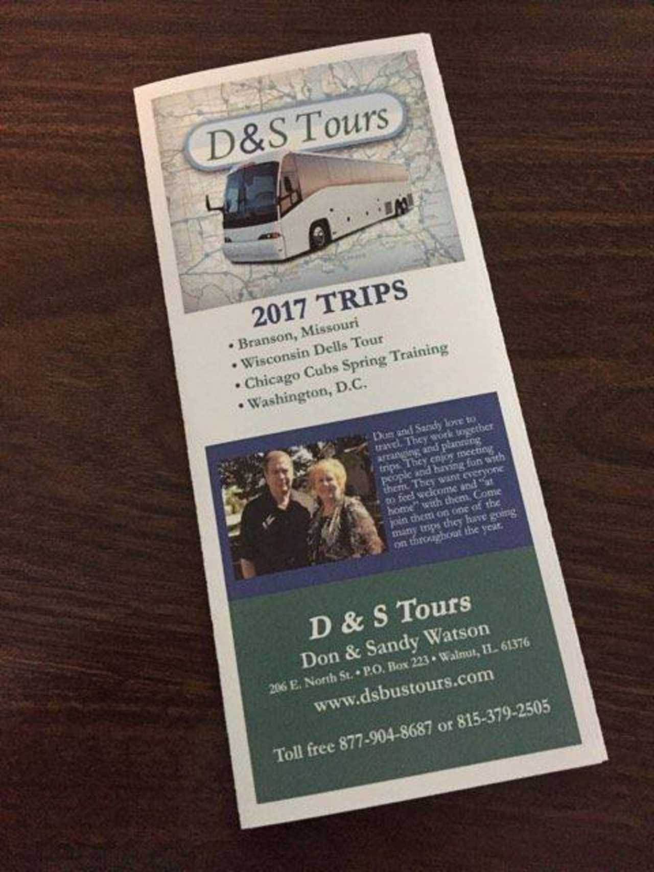 D&S Tours - Travel - Travel Tours in Walnut IL