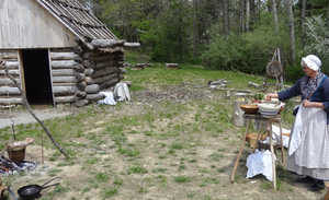 Meadowcroft Rockshelter and Historic Village in Avella, PA
