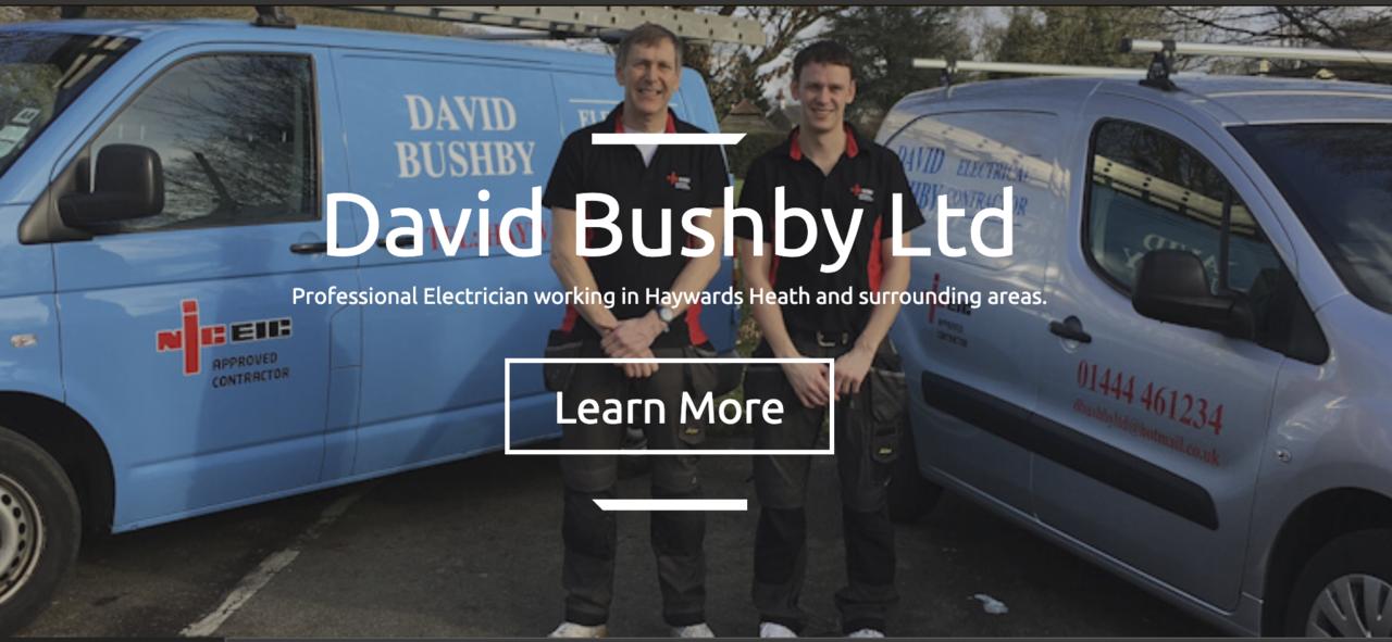 David Bushby Electrical contractor - Shop Local - Essential Business in Haywards Heath