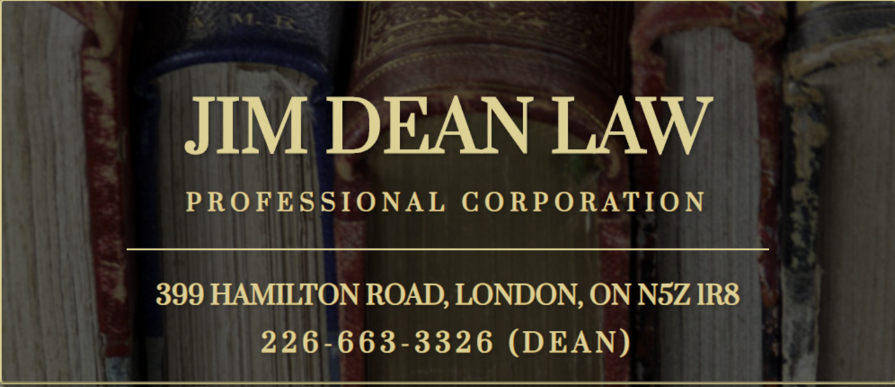 Jim Dean Law Professional Corporation - Shop Local - Attorneys in LONDON ON