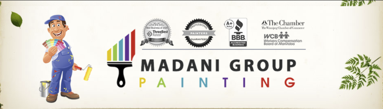 Madani Group Painting And Stucco Coating - Shop Local - Essential Business in Winnipeg MB