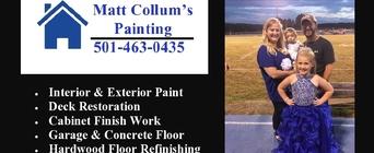 Matt Collum's Painting - Services - Painters in Jessieville AR